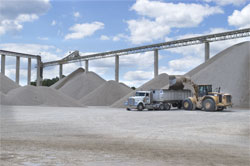 Wissota Sand & Gravel Aggregate In-house Trucking